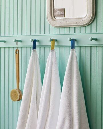 quirky ways of hanging bathroom towels fine and feathered