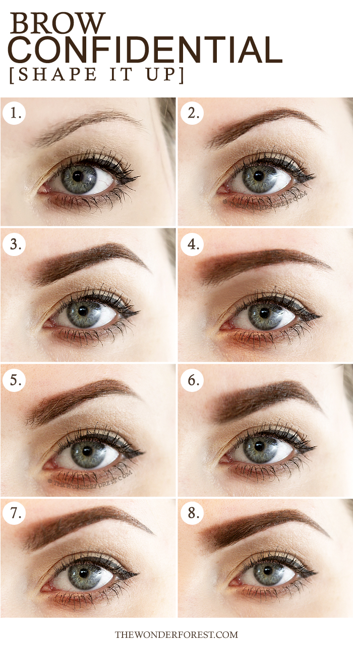 8 Different Styles of Eyebrow Shapes - Fine and Feathered